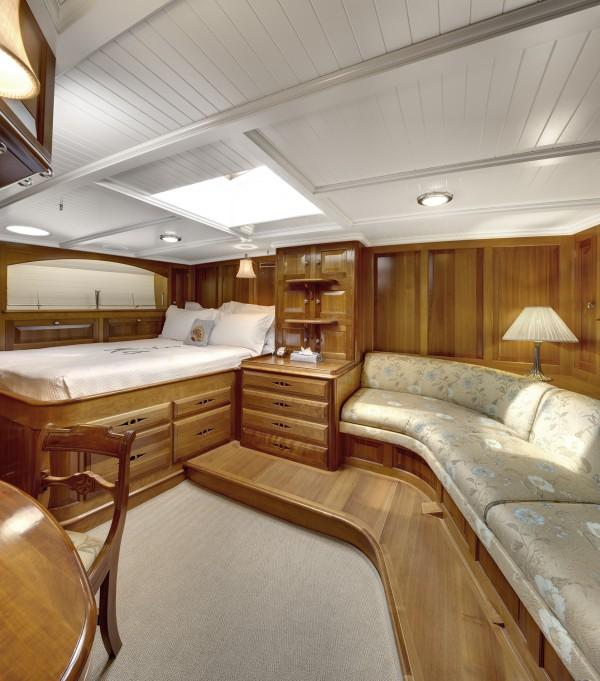 Endeavour's interior